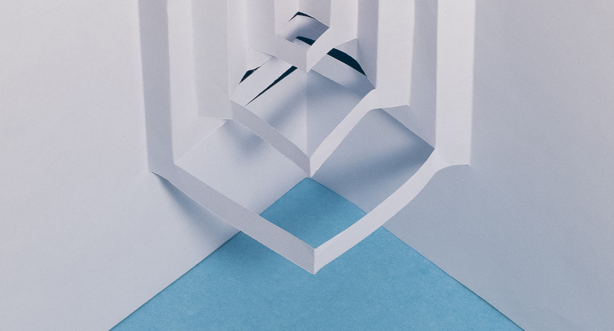 Read more about the article Day 4 – Abstract Paper Architecture – Pop Up Art