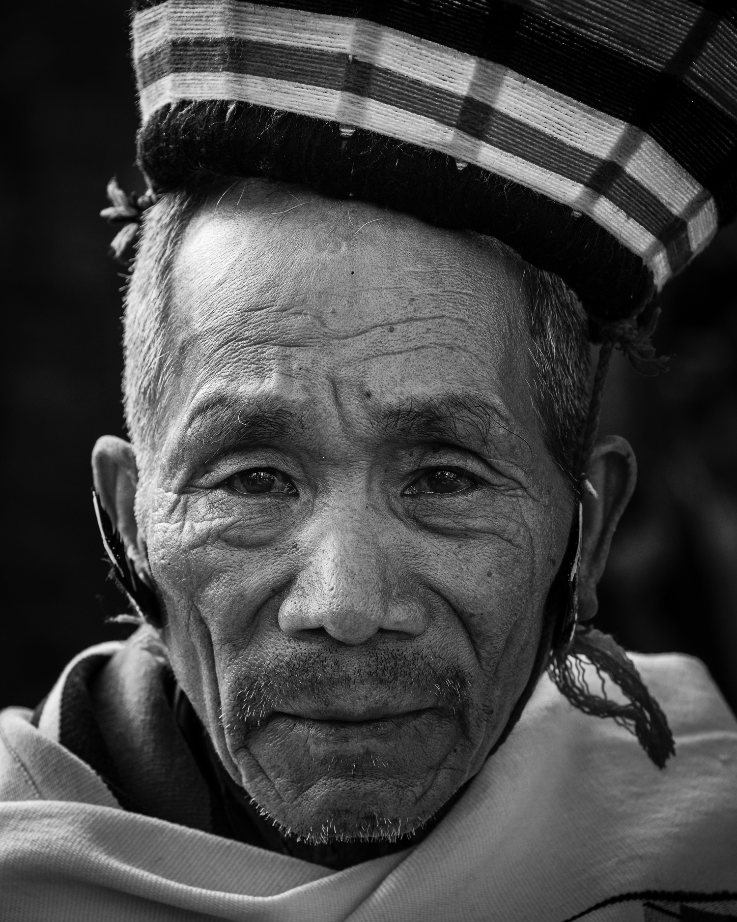 Portrait of a Naga Tribal