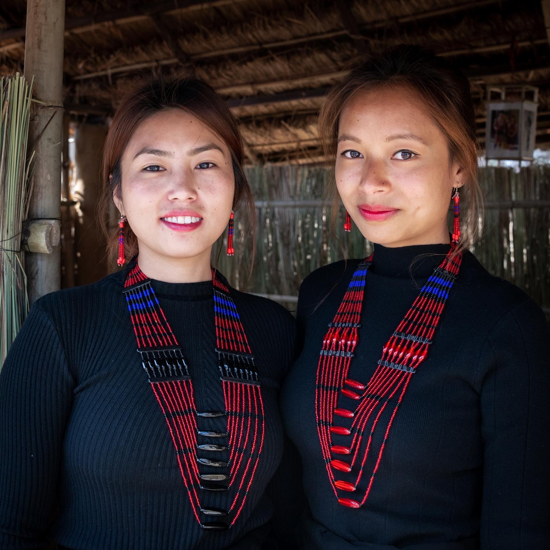 Beautiful Naga girls